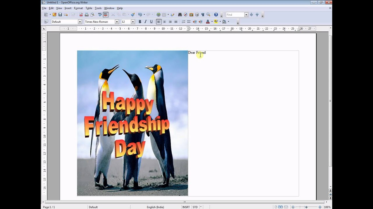 greeting cards in ood - youtube, Presentation templates