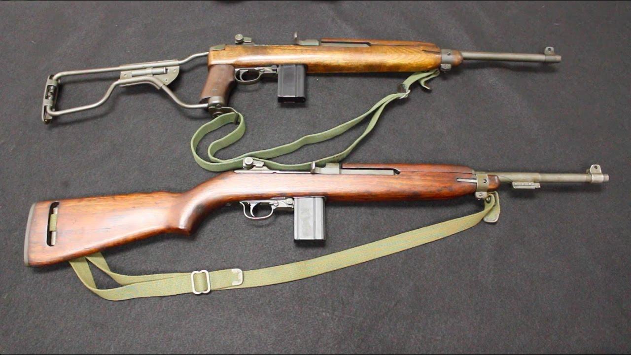 75d05593f17dae M1A1 Paratrooper Carbine vs M1 Carbine - YouTube
