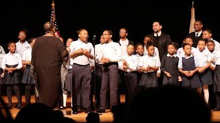 The Voices of Renaissance Perform at Ayanna Pressley's Community Swearing in Ceremony
