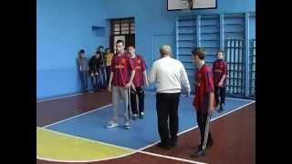 Волейбол Соревнование ОШ Стародубовка и ОШ Демьяновка 12 12 2014г