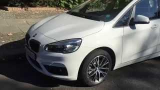 BMW 2er Active Tourer bei DriveNow