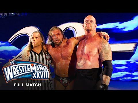 FULL MATCH - Undertaker vs. Triple H – Hell in a Cell Match: WrestleMania XXVIII