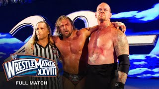 FULL MATCH - Undertaker vs. Triple H – Hell in a Cell Match: WrestleMania XXVIII