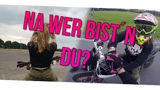 Ich kläre SIE mir mit dem Motorrad!? Facereveal?