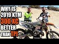 Dialed in 2019 KTM 300 XC - better than 300 XC-W TPI