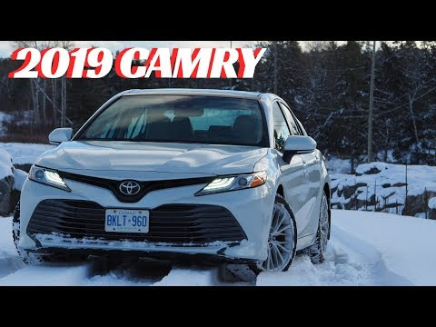 2019 Toyota Camry XLE Test Drive Review.