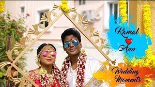 Kamal and Anu Wedding Moments | Wedding Highlights | 2018 | YATY | AaHa Kalyanam | Petta