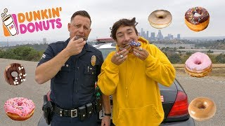 DONUT MUKBANG WITH A POLICE OFFICER (LAPD)