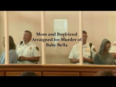 Baby Bella - Rachelle Bond and Michael McCarthy Arraignment 09/21/15