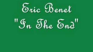 "Eric Benet ""In The End"""