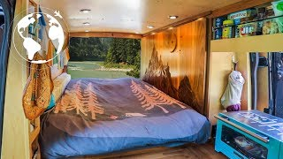 Married Couple Leave Suburbia for a Converted Sprinter Van