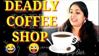 FUNNY COFFEE SHOP | ONE COFFEE HUNDRED QUESTIONS | COMEDY VIDEO | MUST WATCH |