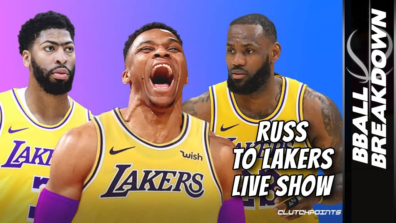 Russell Westbrook To The Lakers LIVE Show