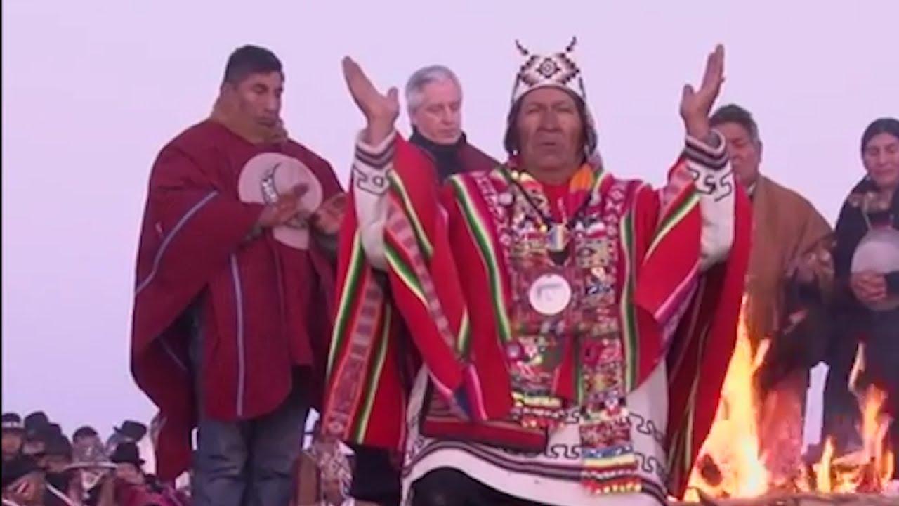 La pandemia condiciona ceremonias indígenas por el solsticio pero no anula objetivos