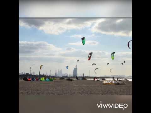 Jumeira Open Beach   Kite Beach   Burj Al Arab Dubai