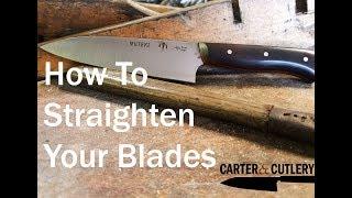 How to Straighten Y๐ur Blades