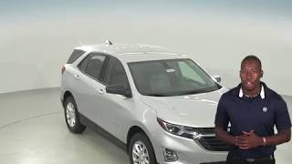 183084 - New, 2018, Chevrolet Equinox, LS, SUV, Silver, Test Drive, Review, For Sale -