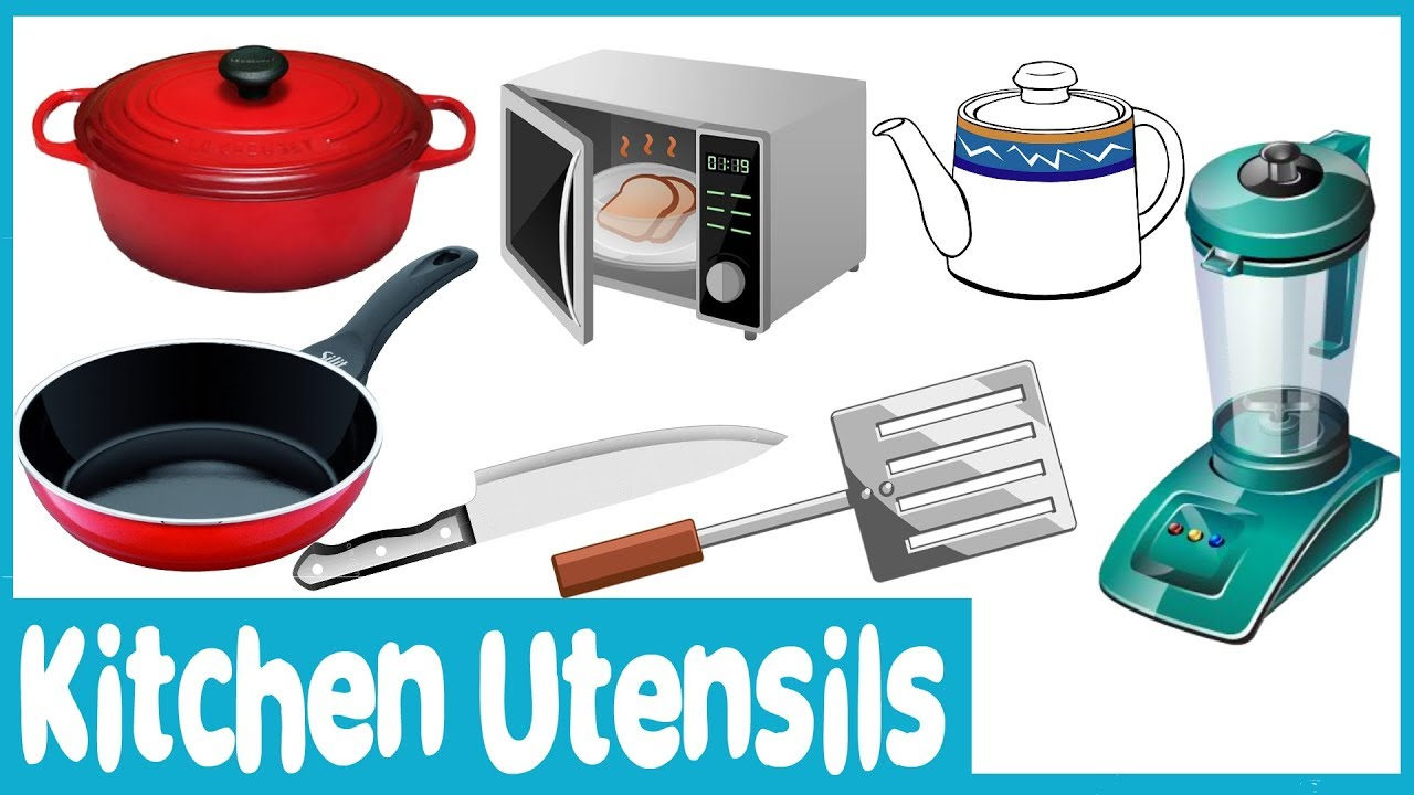 Learn Names And Picture Of Kitchen Utensils For Nursery Kitchen