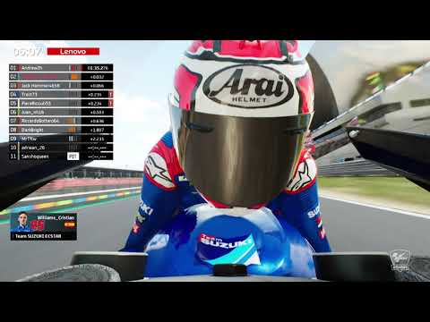 2021 MotoGP eSport Global Series #1 Portimao Qualifying