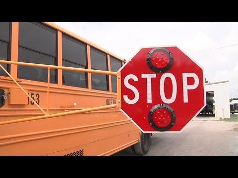 Pitt County Schools extends school bus stop arms
