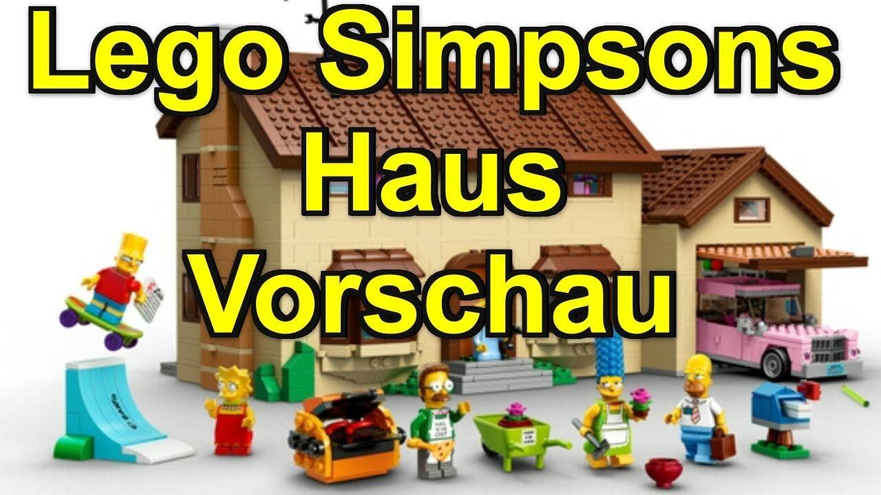 Hd lego simpsons haus 71006 vorschau und meine meinung for Modernes lego haus