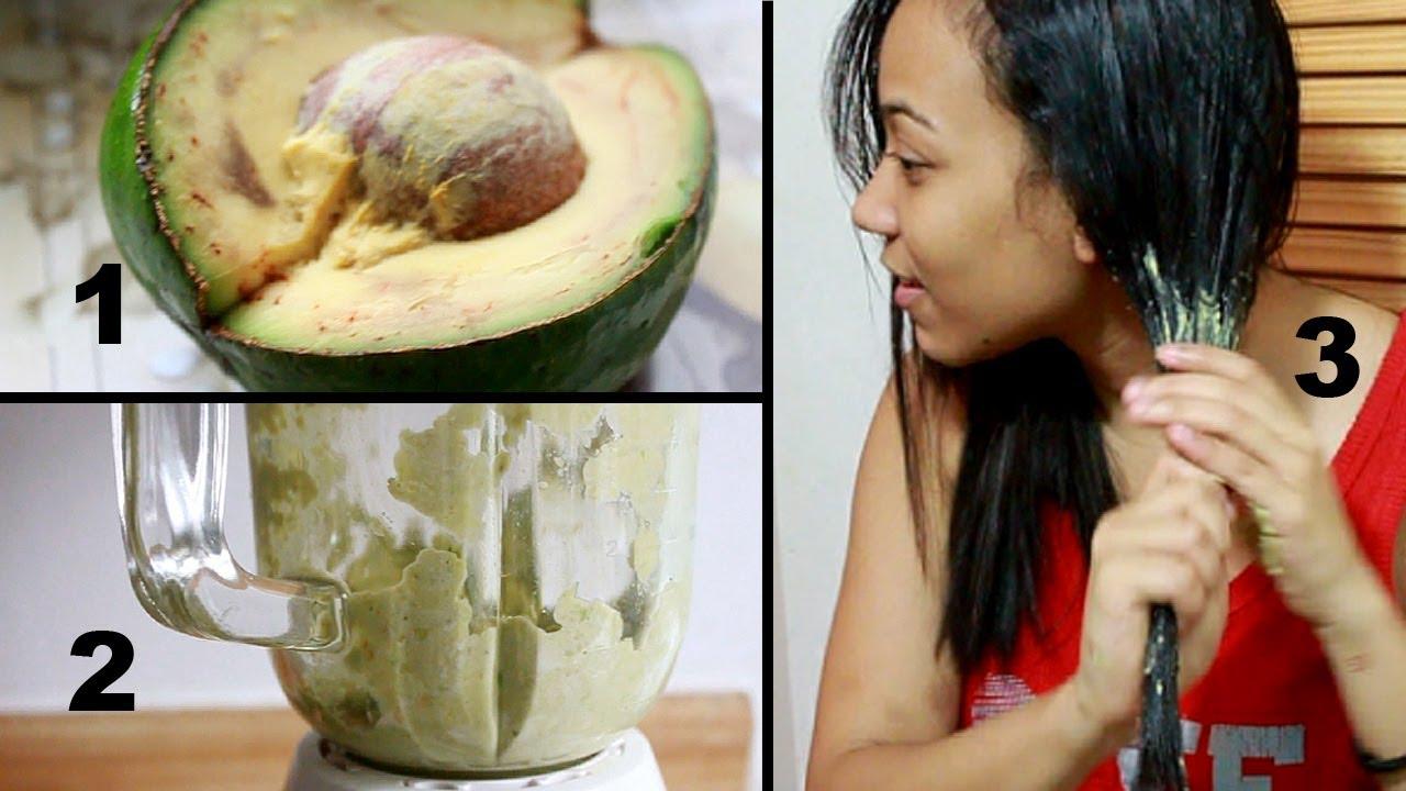 Tratamiento para cabello maltratado aguacate