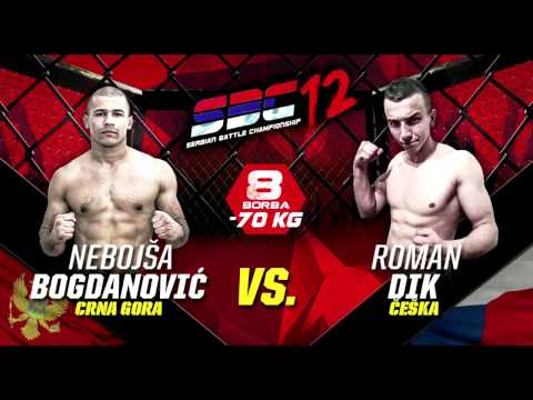 SBC 12 - Nebojša Bogdanović vs Roman Dik - Serbian Battle Championship 12