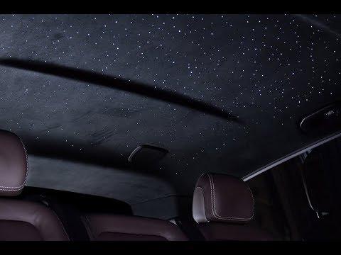 Как сделать звездный потолок в машине
