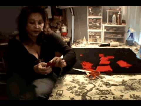 Handmade Silk Roses_Millinery Workshop / Tutorial.