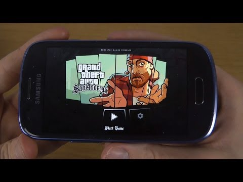Grand Theft Auto: San Andreas Samsung Galaxy S3 Mini Gameplay Trailer