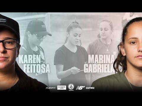 Karen Feitosa & Marina Gabriela: Head To Head | WBATB