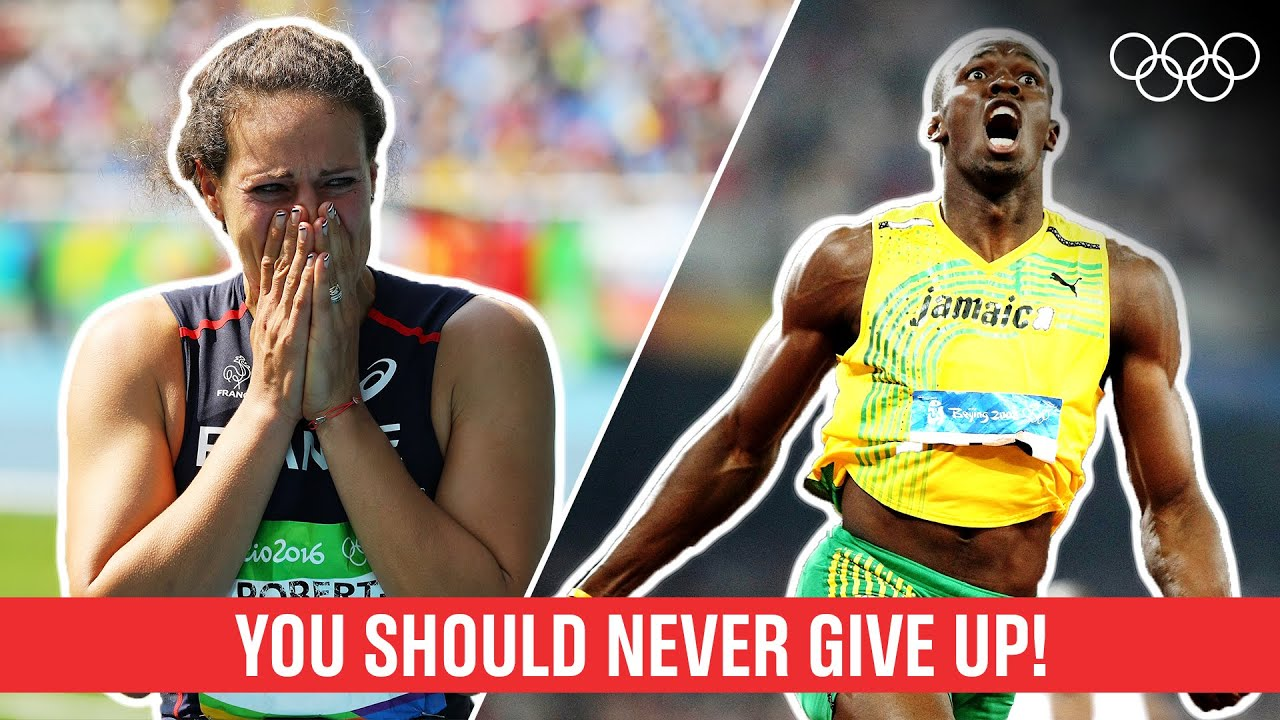10 Athletes who proved you should NEVER give up!