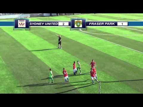 (12/03/2016) Sydney United vs Fraser Park (U9 Trial Game 1)