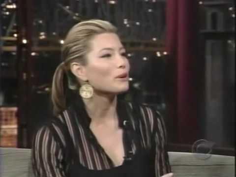 Jessica Biel   David Letterman July 22, 2005