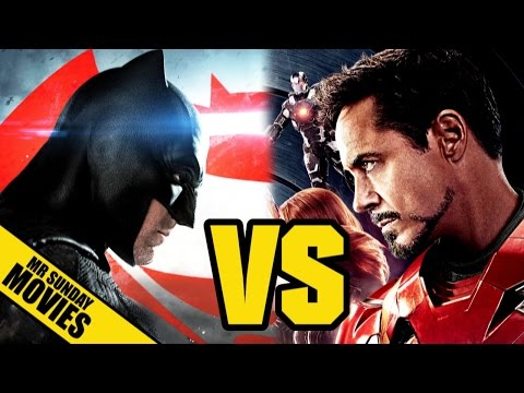 CIVIL WAR VS BATMAN V SUPERMAN - Which Is Better & Why?