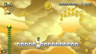 New Super Luigi U - 2-6. Spinning Sandstones [ALL STAR COINS]
