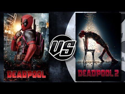 Deadpool 1 VS Deadpool 2