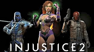 Injustice 2 - RED HOOD, STARFIRE AND SUB ZERO REVEALED!