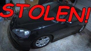 rsx stolen on camera