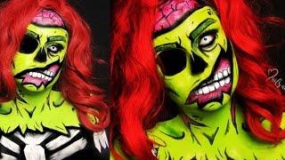 Zombie-Pop-Art Comic - | Halloween-Make-Up | Make-Up Tutorial | Maryandpalettes