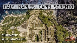 ITALY - Naples - Capri - Pozzulio - by Drone CINEMATIC [2018] ALLOFFROAD ABROAD #148