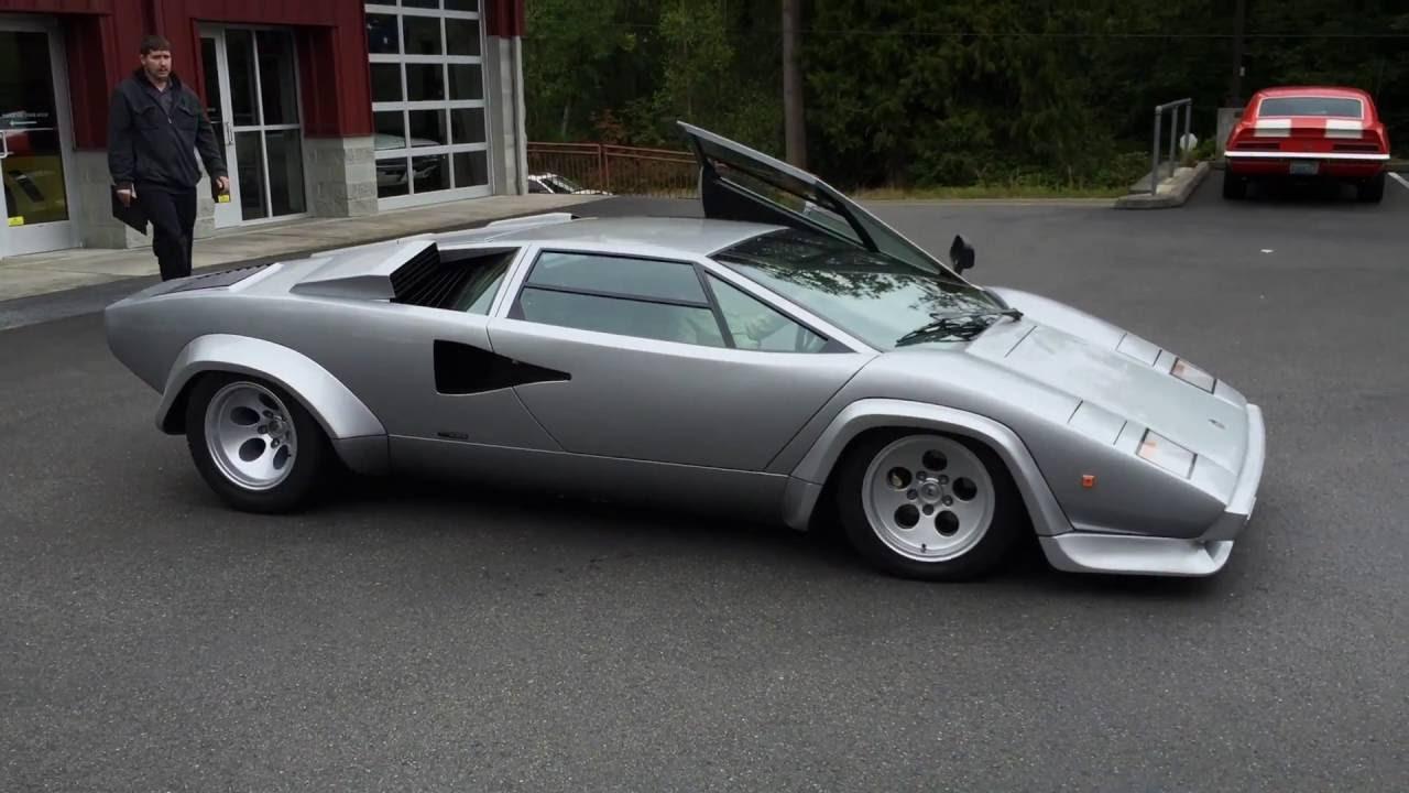 1981 Lamborghini Countach Series 2 Low Body Youtube