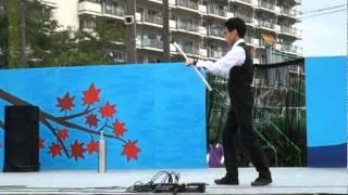 第56回芝生祭 Devilstick Performance