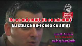 LIVIU GUTA - DE CE MA MINTI, KARAOKE SUPER STARS