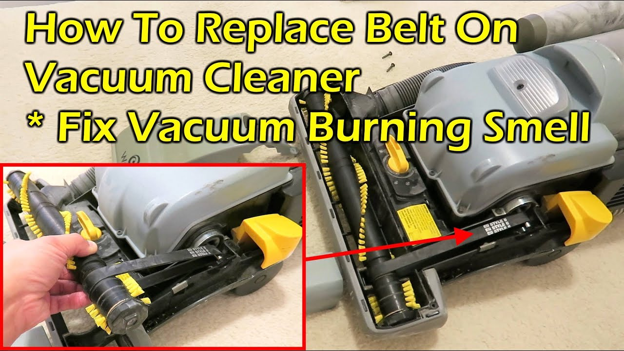 How To Change Vacuum Cleaner Belt