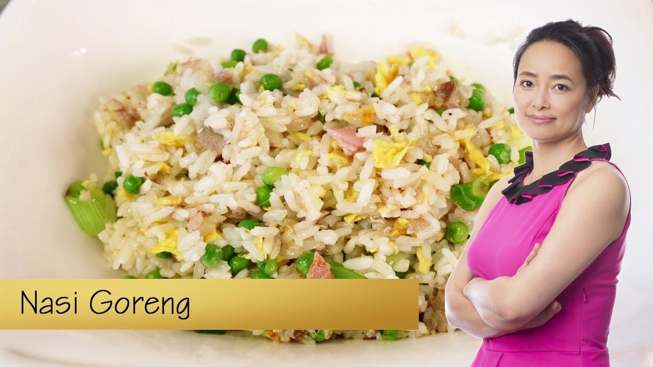 Zelf thuis Nasi Goreng bakken - YouTube
