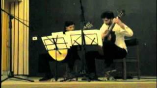 """Dúo Nuño- Lukšić: ( Satie & Debussy ): """"En y regardant à deux fois"""", """"Modestemente"""", """"Reverie"""""""