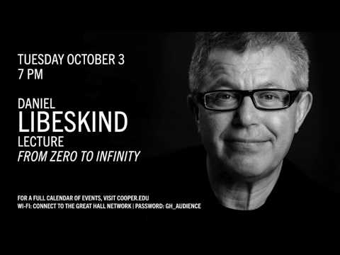 Daniel Libeskind - Live at The Great Hall