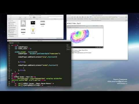 HTML5 Video - Playlist & Logo [Part 1]