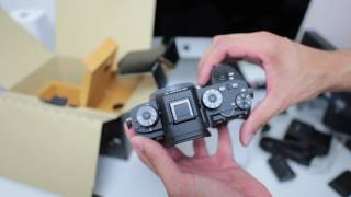 A quick unboxing of the new Sony A9. Unboxing of the Sony FE 24-70 ...